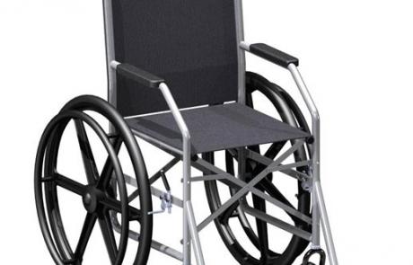 Cadeira de Rodas Manual 1009 (pneus rígidos) - Jaguaribe