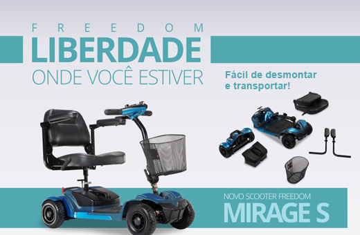 Scooter da Freedom é na Ortoeficiente